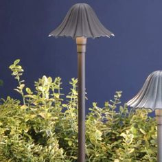 Kichler Mushroom Architectural Bronze Landscape Path Light - #23406 | LampsPlus.com