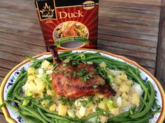 Roasted Thai Green Curry Duck with Pineapple Coconut Rice - Maple Leaf Farms