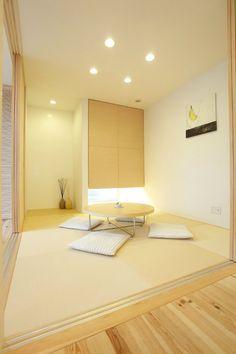和室 Japanese Interior Design, Japanese Home Decor, Japanese House, Home Interior Design, Minimalist Dining Room, Minimalist Interior, Style At Home, Japan Room, Tatami Room
