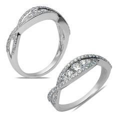Ebay NissoniJewelry presents - Ladies 1/2CT Diamond Anniversary Band in 14k White Gold    Model Number:ABV4626H-W453    http://www.ebay.com/itm/Ladies-1-2CT-Diamond-Anniversary-Band-in-14k-White-Gold/321612161101