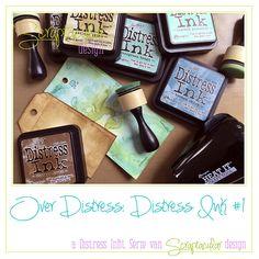 De eerste aflevering van een nieuwe serie over Distress Inkt en Oxide Inkt.