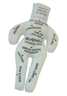 Personalised Revenge Voodoo Doll: Toys & Games