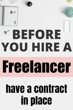 Whether you hire freelancers or you are a freelancer yourself, make sure that you sign this contract first. Avoid lawsuits and sleep peacefully at night, knowing your online business is protected legally. Contractor Contract, Business Tips, Online Business, Small Business From Home, Hire Freelancers, Virtual Assistant Jobs, Job Work, Competitor Analysis, Make Money Blogging