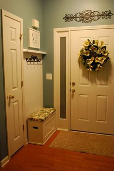 Using small behind the door space