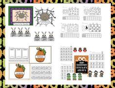 Halloween October centers