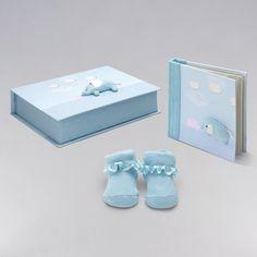 Set Regalo Elefante. ¡A mamá le va a encantar! Todo un detalle para el bebé, donde podrás guardar todos sus recuerdos. #regalos #babygifts #bebés