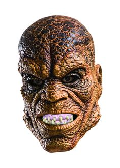 Suicide Squad Killer Croc Mask - Killer Croc is part of the DC Comics franchise. If you want to be this unique supervillain, you can put on this mask and pay tribute to the Suicide Squad. Dc Comics, Halloween Costume Contest, Halloween Masks, Halloween Ideas, Trendy Halloween, Halloween 2016, Costume Ideas, Reptiles, Suicide Squad
