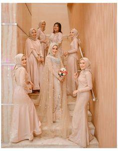 Hijab Prom Dress, Muslimah Wedding Dress, Hijab Style Dress, Muslim Wedding Dresses, Hijab Bride, Wedding Gowns, Dress Muslimah, Muslim Brides, Hijab Chic