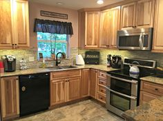 Kitchen renovations are popular, especially for a more open layout and modern equipment.  Click on pin to see more examples of kitchen renovations.