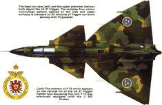 SAAB J.37 Viggen | Sweden | F13 Bravalla Flygflottilj | JA.37 | 13/34