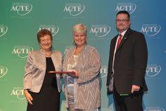 Region II Career Guidance Award winner, Barbara Mackessy of Euharlee, Georgia. https://www.acteonline.org/general.aspx?id=5284