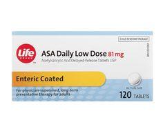 Life Brand ASA Daily Low Dose  81mg