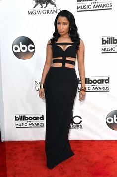 Fabulously Spotted: Nicki Minaj Wearing Alexander McQueen - 2014 Billboard Music Awards - http://www.becauseiamfabulous.com/2014/05/nicki-minaj-wearing-alexander-mcqueen-2014-billboard-music-awards/