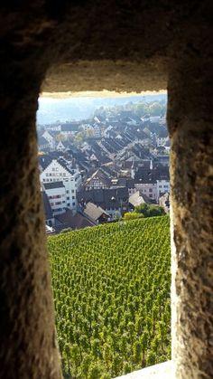 Altstadtblick vom Munot SH