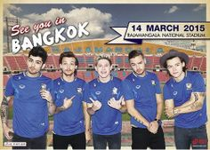 One Direction On The Road Again Tour promo picture