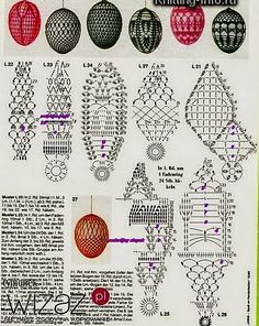 Discover recipes, home ideas, style inspiration and other ideas to try. Easter Crochet Patterns, Crochet Birds, Crochet Motifs, Crochet Diagram, Thread Crochet, Crochet Doilies, Crochet Ornaments, Crochet Snowflakes, Lampe Crochet
