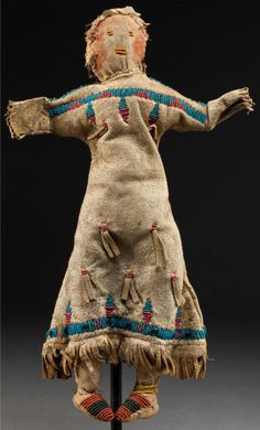 Кукла Сиу. 1890 год.
