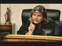 A Judges Life: Scary Judge Mary on the Bench | I LIKE HER !!! .. She tells LIKE IT IS .&. SHOULD BE .. People would/should feel LUCKY to be in Her Courtroom ..
