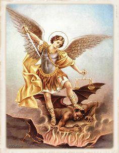 Santa María, Madre de Dios y Madre nuestra: San Miguel Arcangel, 29 de septiembre