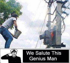 Salute to this genius