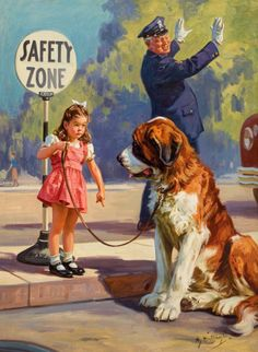 HY (HENRY) HINTERMEISTER (American, 1897-1972) Safety Zone