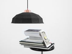 Celulo wide lamp, made in Poland. Lighting, Poland, Modern, How To Make, Black, Home Decor, Products, Bending, Trendy Tree