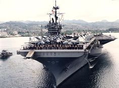The USS Ranger, CV-61. American might. What a ship!
