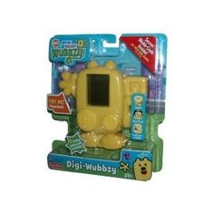 Fisher-Price Digi Wubbzy by Fisher-Price. $19.95. From the Manufacturer                Digi Wubbzy is a handheld games or activity toy with a yellow LCD screen. Many facial expressions and silly animations as well as games and activities will be included. A simple d-pad control will allow fun and simple play for young children. Wubbzy's tail is a mode select switch taking you through eight different games and activities. Use the simple d-pad to move the character in the games and...