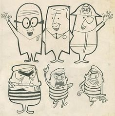 60s cartoon characters - Google Search