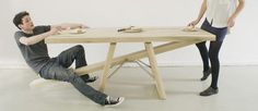 TrendsNow | See-Saw Style Table