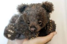 Bear by Alena Kulichkina.  It doesn't get any cuter than this!