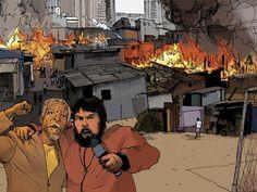 Matéria feita com o morador da favela do Moinho conhecido como Milton Sales. Ele relata as pressões, a luta e a angústia que a população do Moinho passou e passa após os incêndios.