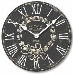 Amazon.com: Item C2041 Vintage Style 10.5 Inch French Bistro Clock: Furniture & Decor