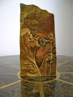 US $1,100.00 in Antiques, Decorative Arts, Metalware Art Nouveau, Bronze, Vase, Paris, Antique Art, Pewter, Art Decor, Copper, Sculpture