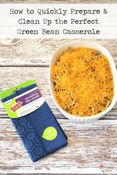 [ad] How to Quickly Prepare & Clean Up the Perfect Green Bean Casserole • #ScrubSeason
