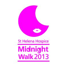 St Helena Hospice Midnight Walk - Saturday 8th June 2013.