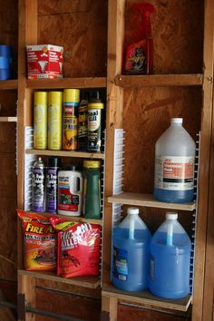 Image result for how to organize a shed