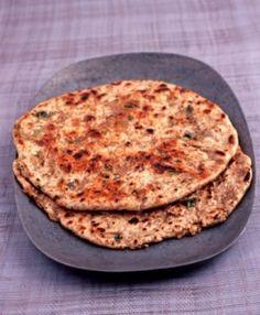 Sweet Potato Flatbread - The Healthy Voyager