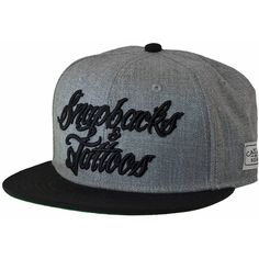 09e299edf3315 Cayler   Sons Cap Snapbacks   Tattoos grey black