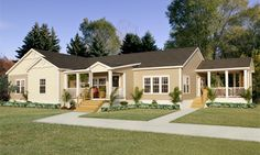 High Sierra Modular Home Floor Plan.  3 bedrooms. 2 baths. Approximately 2,825 square ft