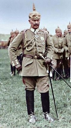 :: Kaiser Bill : Wilhelm II or William II was the last German Emperor and King of Prussia, ruling the German Empire and the Kingdom of Prussia from 15 June 1888 to 9 November 1918 :: Wilhelm Ii, Kaiser Wilhelm, European History, World History, World War One, First World, King Of Prussia, German Uniforms, Nagasaki