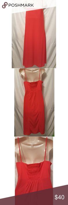 J CREW Red Maxi Dress Size 10 J Crew Maxi Dress J. Crew Dresses Maxi