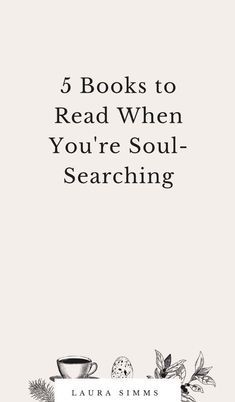 5 Books to Read When You're Soul-Searching - Bücher - Livros Book Nerd, Book Club Books, My Books, Good Books To Read, Free Books, Reading Lists, Book Lists, Quotes On Reading Books, Quote Books