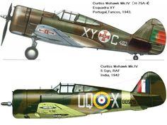 . . . . O Curtiss P-36 foi um dos primeiros de uma nova geração de caças monoplanos a entrar ao serviço da USAAC ( United ...