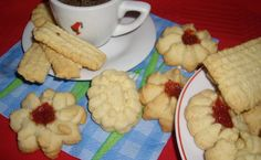 Biscuiti spritati Waffles, Pancakes, Gem, Pudding, Breakfast, Sweet, Desserts, Food, Morning Coffee
