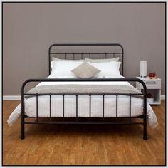 Full Bed Frame King Headboards Double Platform Metal Wooden