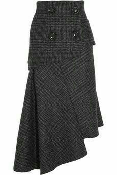 Pedro del Hierro Madrid Camilo asymmetric wool skirt perfect for winter Mode Outfits, Fashion Outfits, Womens Fashion, Moda Chic, Outfit Trends, Mode Vintage, Wool Skirts, Mode Inspiration, Refashion