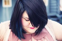 Blue highlights, awesome cut.
