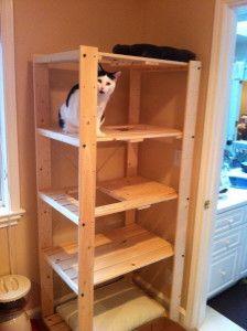 homemade cat tree - Google Search