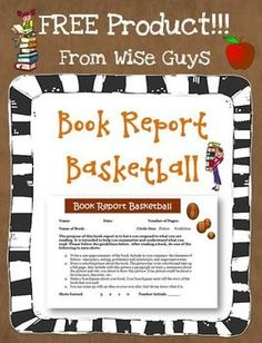 Book Report Templates on Pinterest | Grade Books, Second Grade